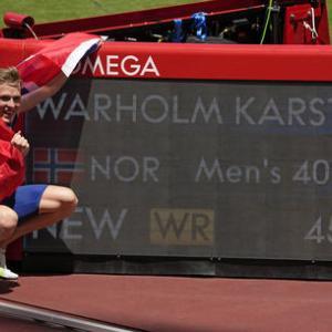 男女400mハードルの驚異的な世界新と日本リレーの秘策~今日は箸の日