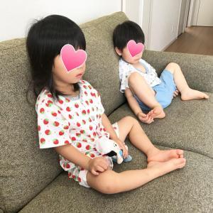 3歳間近。双子の断乳【二日目】