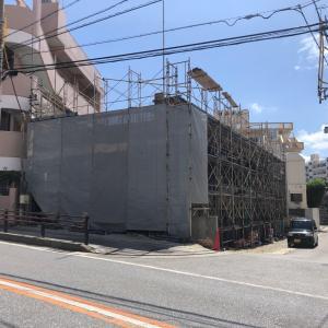 建築中のアパート紹介