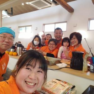 みんなのcafeの子ども無料DAY!厨房お手伝いでした(^-^)/