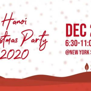 『Hanoi Christmas Party 2020』のお知らせ
