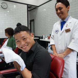 Kim Maエリアに新オープンの理容室にハノイの人気ブロガー登場