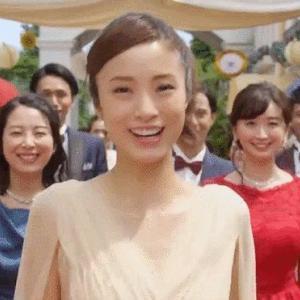 【GIF】上戸彩、AOKIのCMで自慢のFカップ乳を見せつけてしまう(GIFあり、画像あり)