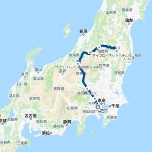 国道252号は良い道。福島から新潟へ。