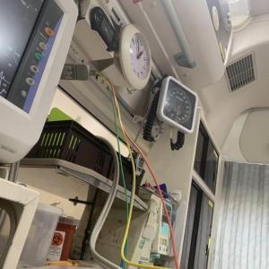 【退院済み】救急車で運ばれて。緊急手術で短期入院。いや、盲腸なんで大したコトは無いんですけれども。