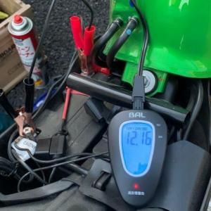 1,740ccのレンタルバイク予約ミスからのバッテリー交換時期。