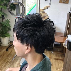 くせ毛を作りましょう(*^^)v
