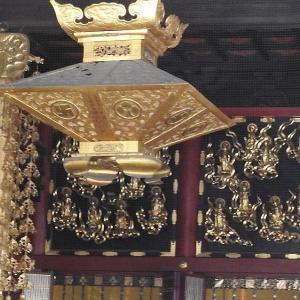 金色の内陣     善光寺