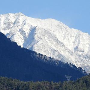 今日の仙丈岳