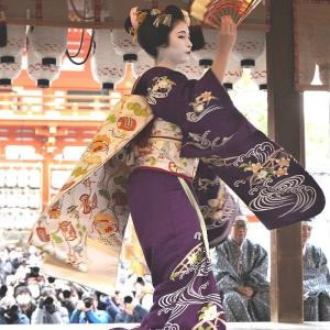 美月さん踊る   京都の友よりの写真と文