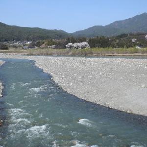 天竜川     四月一日