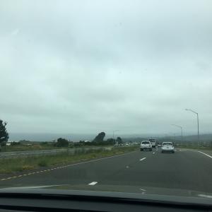 どんより曇ってる北の町