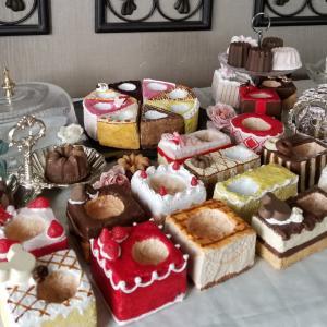 *モルタル鉢でケーキ屋さん*