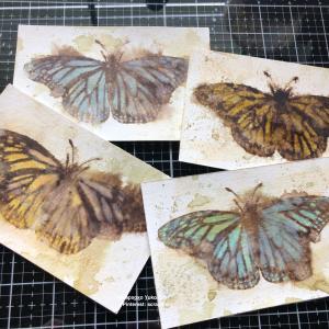 昨日の蝶の作り方