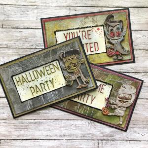 Halloween Costume Party cards