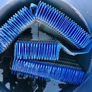 床暖房の稼働前に!加湿器のフィルター交換。衝撃の汚れ。