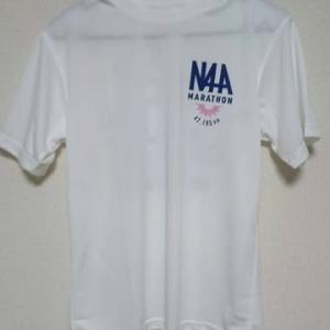 那覇マラソンのTシャツ