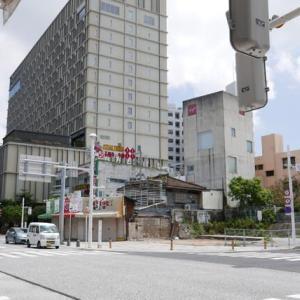 国際通りにできたホテル