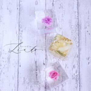 【ハーバリウム】透明感抜群♡クリスタルアートリウム