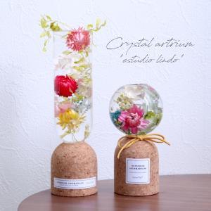 【クリスタルアートリウム】オシャレすぎる♡素敵な花器