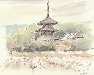 秋の奈良へ(1)