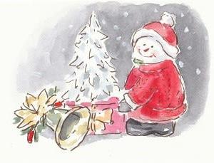 100均・クリスマス小物たち