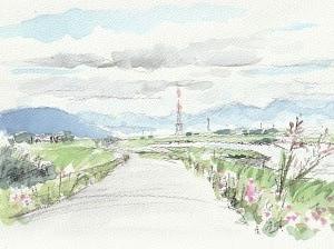 梅雨の晴れ間に・揖斐川(続)