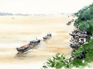 長江のバックウォーター現象