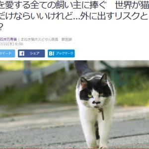 ■Yahoo!ニュース 猫を愛する全ての飼い主に捧ぐ 世界が猫好きだけならいいけれど