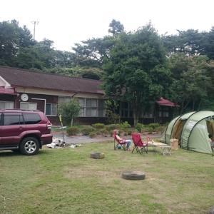 キャンプ場ではないけれど