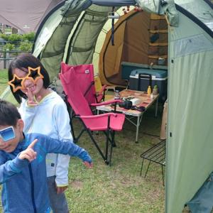 和島オートキャンプ場 2019その2