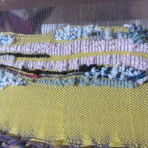 手織りレッスンが始まりました