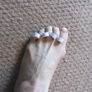 外反母趾と足袋