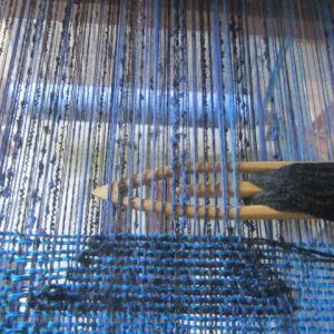 手織りの道具