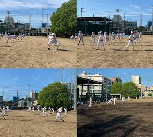 野球の動きに繋げる!