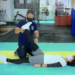 関節の動きを改善して柔軟性向上!