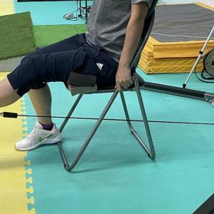 膝関節の可動域改善!