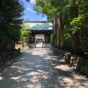 寒川神社へ「大祓い」