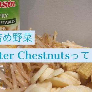 缶詰に入っていたWater Chestnuts