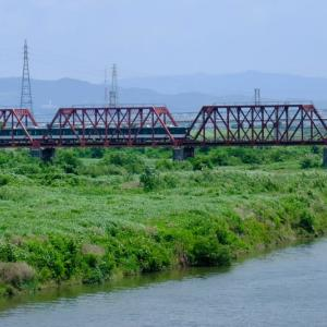 京阪電車を「撮り鉄」しました(宇治川橋梁)