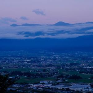 久しぶりに信州へ(朝の常念岳を撮影しました)