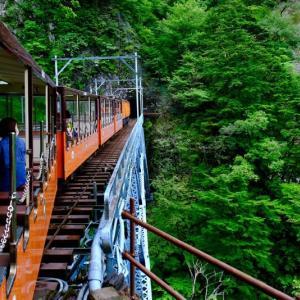黒部峡谷鉄道トロッコ電車に乗って(2)