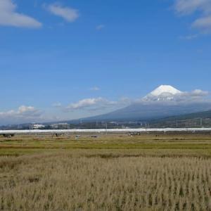 思い出の1枚(富士山と新幹線)