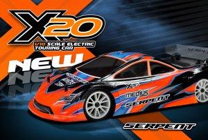 新型電動ツーリングカー X20