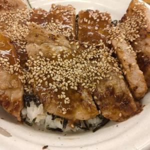食レポ 松屋の味噌漬けトンテキ丼