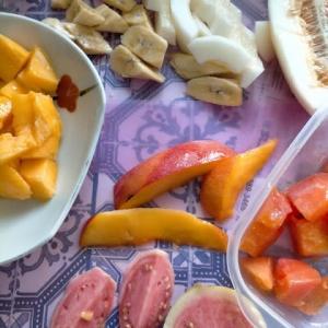 フルーツ盛りカキ氷