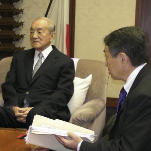 中曽根元総理逝く:大変お世話になりました。ありがとうございました。