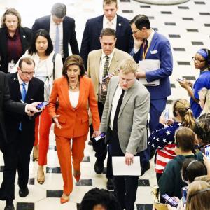 トランプ大統領弾劾決議下院から上院へ