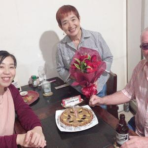 フィリピンの母の誕生日
