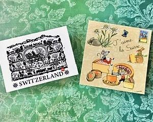 スイスからの素敵な贈り物。。。